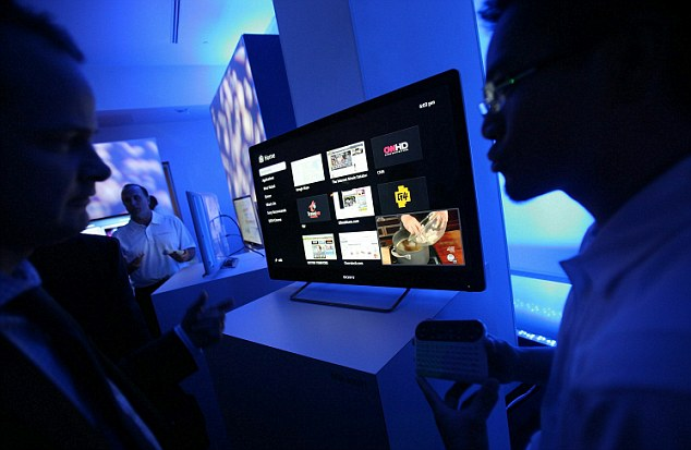 Sony And Google Unveil Internet TV Set